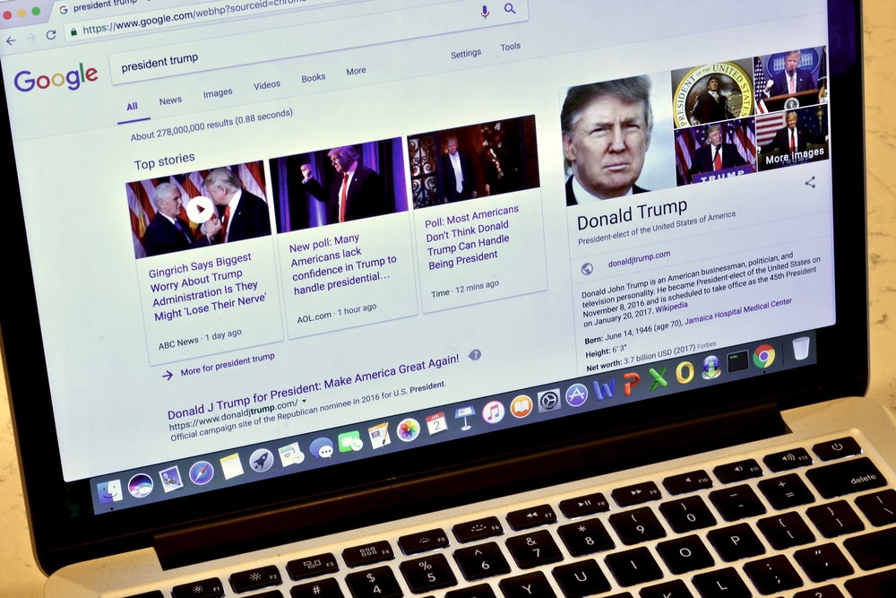 Donald Trump and Search Marketing